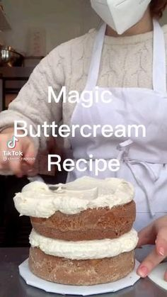Fun Baking Recipes, Sweet Recipes, Dessert Recipes, Cooking Recipes, Frosting Recipes, Buttercream Recipe, Delicious Desserts, Yummy Food, Baking Business
