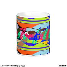 Colorful Coffee Mug