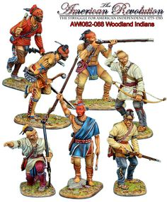 First Legion Toy Soldiers - Woodland Indians Native American Warrior, Native American Quotes, Native American History, Native American Indians, Military Art, Military History, Spider Book, American Indian Wars, Woodland Indians