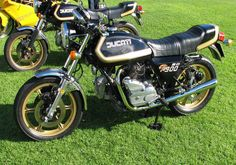My first bike!!!  Everyone lusted after the Ducati 900 SD in the late 1970s. Until they actually owned one that is ...