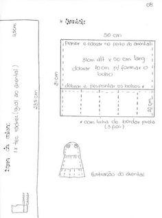 Moldes Para Artesanato em Tecido: Galinha de Xale 9/10