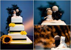 Le Magnifique: A Southern California Wedding by D. Park Photography #cake #weddings