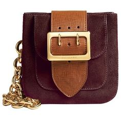 The Burberry Belt Bag - Square in English Suede ($1,495) ❤ liked on Polyvore featuring bags, handbags, shoulder bags, accessories, burberry, purses, burberry handbags, belt bag, purple purse and suede handbags