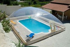 Abri piscine POOLABRI - Cubierta de piscin hinchable-Abri piscine POOLABRI-AERO