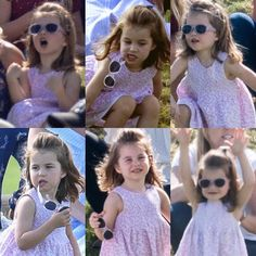 June 2018 ~ Princess Charlotte watching her daddy play polo Princess Diana Family, Royal Princess, Prince And Princess, Little Princess, William Kate, Prince William And Catherine, George Of Cambridge, Duchess Of Cambridge, Lady Diana