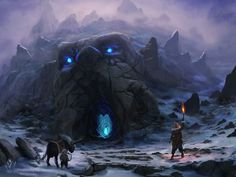 concept art cave sword - Google Search