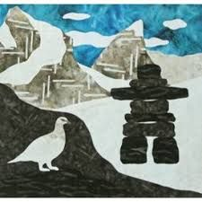 Image result for Canada 150 year quilt block