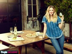 """I'm just not perfect in the kitchen,"" Barrymore, 40, tells PEOPLE. ""But I'm getting there slowly."""