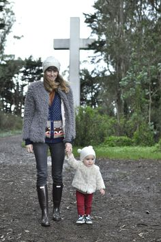 Chloe Fleur mom baby mother child street style fashion blog