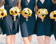 sunflower and daisy centerpieces - Google Search