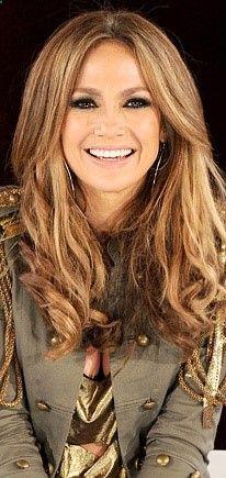 Jennifer Lopez: Love her blended hair color! #blonde #brunette #bronde
