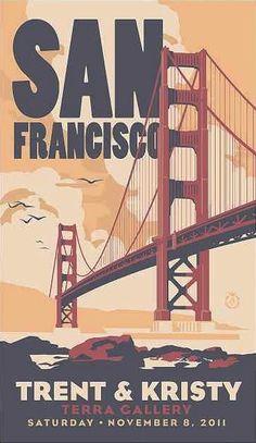 Art Deco San Francisco Wedding #illustration | www.partyista.com