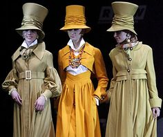 Comical top hats and floor length capes put smiles on the audience's faces during Slava Zaytsev's show.