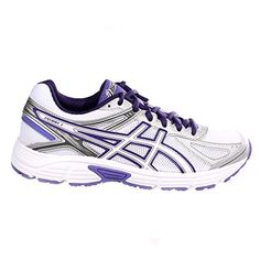 Zapatillas deportivas ASICS Patriot 7 para mujer - blancas/moradas, talla 5 RU - http://paracorrer.com/producto/zapatillas-deportivas-asics-patriot-7-para-mujer-blancasmoradas-talla-5-ru/