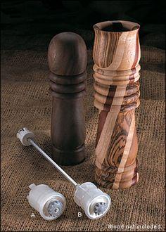 Ceramic Peppermill Mechanisms - Woodworking