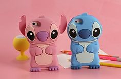 Soft silicone Phone Case for iPhone X 8 7 Cartoon Stitch Lilo Cover for iPhone 6 Plus 5 SE Protective shell Cute Cases, Cute Phone Cases, 5s Cases, Iphone Phone Cases, Iphone 4, Apple Iphone, Phone Covers, Lilo Ve Stitch, Disney Stitch