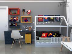 Fun and Original Ideas for Boy's Bedroom Decor – Voyage Afield Boys Bedroom Decor, Baby Bedroom, Avengers Room, Boys Room Design, Superhero Room, Room Themes, Boy Room, Bernardo, Ideas