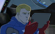 The wonderful expressions of Captain America - Avengers Assemble 1x06