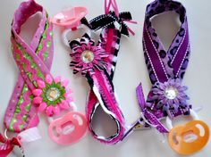 Make Pacifier Clips.  Every guest designs they're own you could do a Onesie to match too!