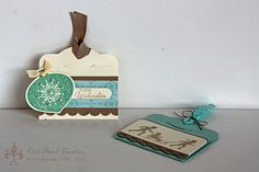 Stampin' UP! Tags