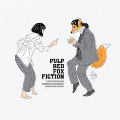 pulp red fox fiction.