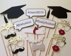2018 Now Available Graduation Photo Booth Props . Class of 2018 Now Available Graduation Photo Booth Props . Set of 16 - Preschool Graduation, High School Graduation, Photos Booth, Graduation Pictures, Graduation Ideas, Graduation Gifts, Graduation Frames, Graduation Desserts, Party Decoration