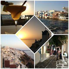 Overview of the Greek Islands... Mykonos, Paros, Santorini!