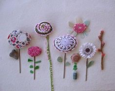 pedras-decoracao-croche-flores