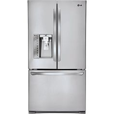 LG LFXC24726S French Door Refrigerator 240 Cubic Feet Stainless Steel ** To view further for this item, visit the image link.