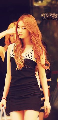 Tara Jiyeon. Pretty little dress :3
