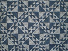 Blue and White Quilts | Blue and White Linton « Ann Champion's Blog