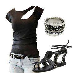 Summer rocker outfit