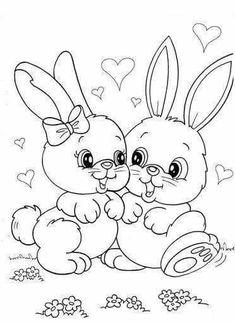 Easter - Coloring Pages - Easter – Coloring Pages - Easter Bunny Colouring, Easter Coloring Pages, Cute Coloring Pages, Disney Coloring Pages, Animal Coloring Pages, Printable Coloring Pages, Adult Coloring Pages, Coloring Pages For Kids, Coloring Sheets