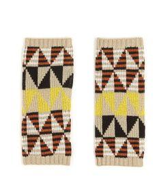 love these tribal fingerless gloves