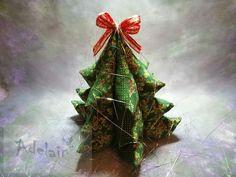 Vánoční stromeček z látky velký | Adelain Marsala, Gift Wrapping, Handmade, Gifts, Self, Gift Wrapping Paper, Hand Made, Presents, Wrapping Gifts