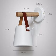 Quality LED Wall Lamps Abajur for Living Room Wall Sconces Light Nordic Wooden belt Wall Light White/Black with free worldwide shipping on AliExpress Mobile Wooden Wall Lights, Wooden Lanterns, Wood Lamps, Wooden Walls, White Wall Lights, Bedroom Lighting, Wall Sconce Lighting, Wall Sconces, Bedroom Wall Lights