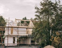 The site Keith and Romina McGreal chose to build on required an Environmental Impact Statement to secure planning permission. House Designs Ireland, County Mayo, Armagh, Cut Above The Rest, Bungalow House Design, Modern Farmhouse Exterior, Shed Homes, Planning Permission, Construction Process