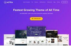 Astra – Fast, Lightweight & Customizable WordPress Theme for Any Website Tema Wordpress, Best Wordpress Themes, Wordpress Guide, Brainstorm, Grid Layouts, Themes Free, Make Up Your Mind, Custom Fonts, Business Website