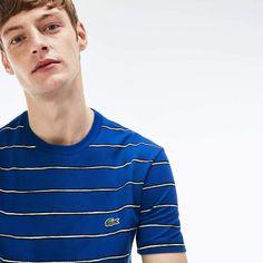 c2b2bc6f5 Lacoste Men s Striped Print Mini Pique T-Shirt Lacoste Men
