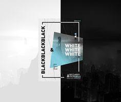 B&W+C2018 on Behance Graphic Design Layouts, Layout Design, Web Design, Logo Design, Plakat Design, Diy And Crafts, Identity, Behance, Photoshop