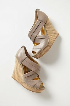 Unwrapped Wedges // anthropologie