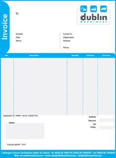 invoice | graphic design | pinterest | graphics, design and templates, Invoice templates