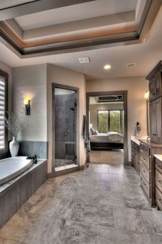 Modern home design Dream Home Design, My Dream Home, House Design, Dream House Plans, Design Hotel, Dream Houses, Dream Bathrooms, Dream Rooms, Small Bathroom