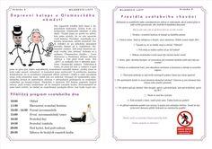 svatební noviny - Hledat Googlem Wedding Scrapbook, Our Wedding, Wedding Inspiration, Words, Weddings, Wedding Albums, Wedding, Marriage, Mariage