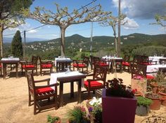 Can Roquet restaurant in Romanya de la Selva