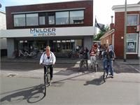 Building customer relationship by bike in the Netherlands