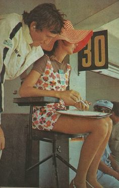Jochen and Nina Rindt in Argentina Le Mans, Grand Prix, Youth Dirt Bikes, Jochen Rindt, Spoiled Kids, Racing Events, The Right Stuff, F1 Drivers, Vintage Cars