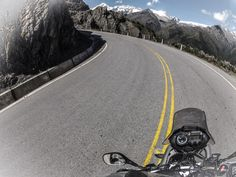 A view from the road.  Go Pro captures the ride to Machu Picchu by Motorbike.  http://www.lokihostel.com/en/travel/tour/new-machu-picchu-by-motorbike-new-machu-picchu-by-motorbike