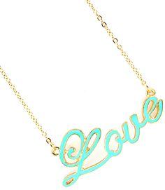 Mint Condition Love Necklace