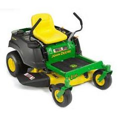 John Deere zero turn (Mid Z--Z trac) lawnmower, do nothing but buy the best! Worked at JDTC long ago & have stocks invested with them. (DCJ)
